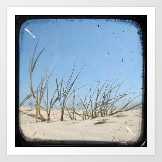 Sand Dunes - Through The Viewfinder (TTV) Art Print