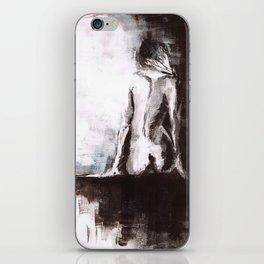 Woman nude iPhone Skin