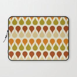 Pastel vintage 60s color drop pattern Laptop Sleeve