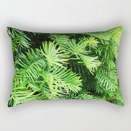 Green pine Rectangular Pillow