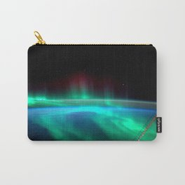 Aurora Borealis Over Earth Carry-All Pouch
