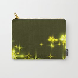 Marsh background with shining light metal stars. Carry-All Pouch