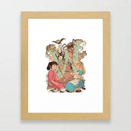 Wonderlands Framed Art Print