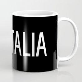 Italy: Italia & Italian Flag Coffee Mug