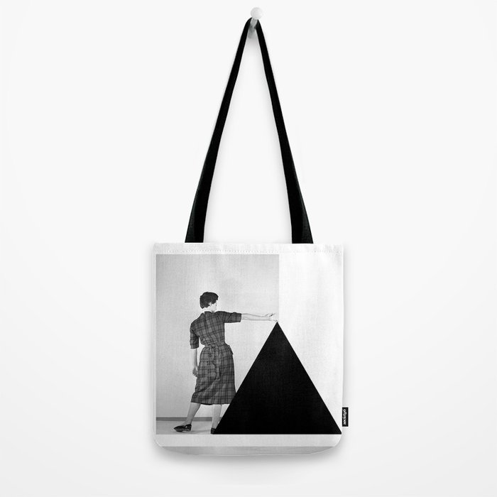 Be my Triangle Tote Bag