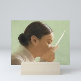 Sealed with a kiss Mini Art Print