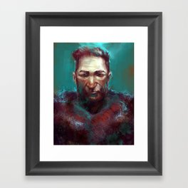 Man of the North Framed Art Print