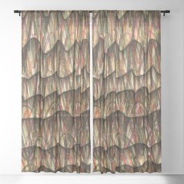 Making Waves Sheer Curtain