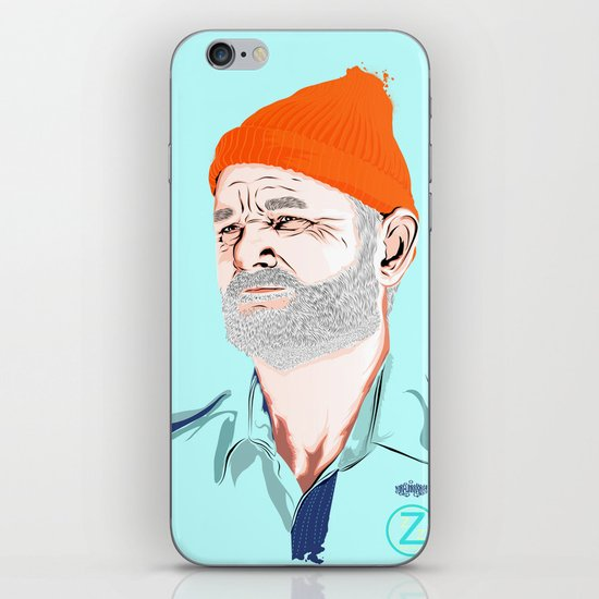 Doc Zissou iPhone & iPod Skin