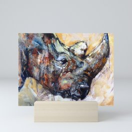 Rhino - Out of the Dust Mini Art Print
