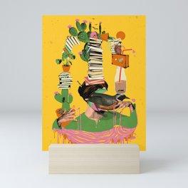 SURREAL KNOWLEDGE Mini Art Print