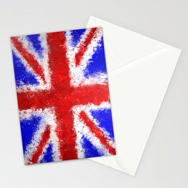 Union Jack Graffiti Stationery Cards