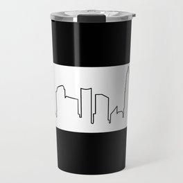 Charlotte, NC Skyline Travel Mug