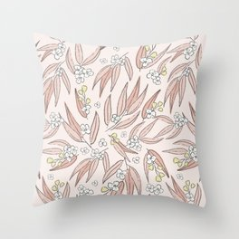 Sprigs of Spring Throw Pillow