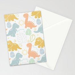 Dino Fun Stationery Cards