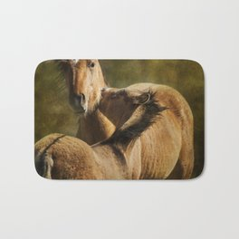 Horsing Around No. 1 - Pryor Mustangs Bath Mat