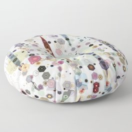 Up on the Hill Floor Pillow