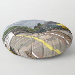 Lostwithiel Station  Floor Pillow