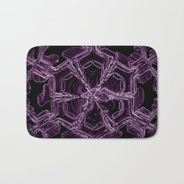 Water Turns Amethyst Bath Mat