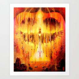 'Fire of Transformation' Art Print