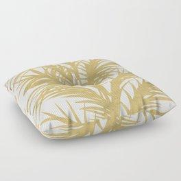 Gold Palms Floor Pillow