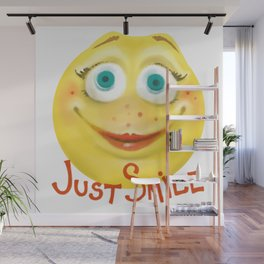 Just Smile :) Wall Mural