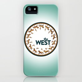 The West Medallion iPhone Case