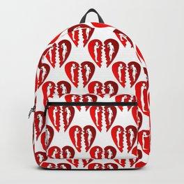 Heartbroken Polka Dot Style Pattern Backpack