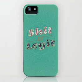 A doubt out of nowhere  iPhone Case