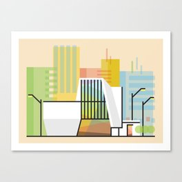 VCU ICA Canvas Print