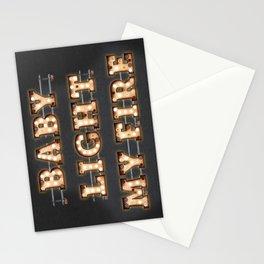Baby light my fire Stationery Cards