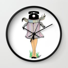 """Call me, maybe..."" Wall Clock"