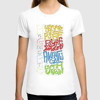 hogwarts T-shirts featuring Hogwarts Houses by oddhour