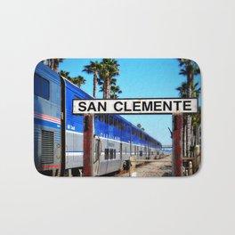 San Clemente Surfliner Bath Mat