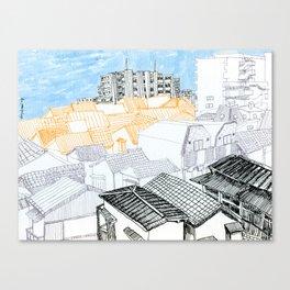 Tokyo landscape Canvas Print