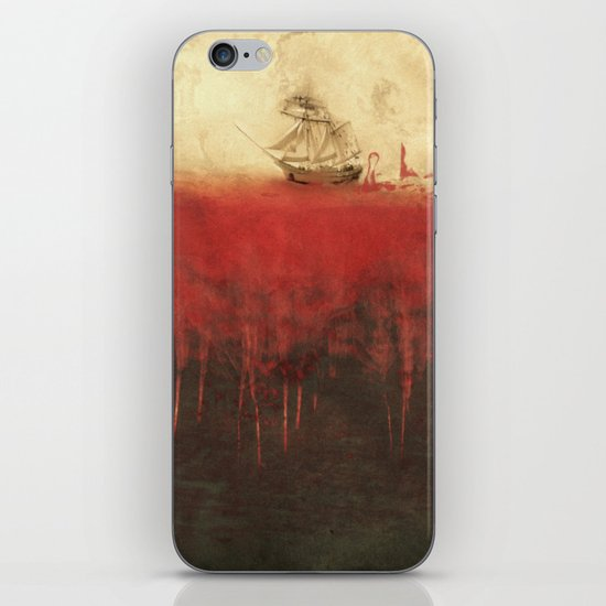 Sailing in dreams iPhone & iPod Skin