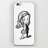 lydia martin iPhone & iPod Skins featuring Lydia Martin Team Human by aredblush