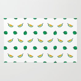 Durian - Singapore Tropical Fruits Series Rug