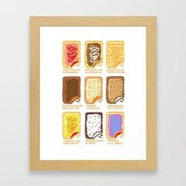 Pop Tart Pop Art Framed Art Print