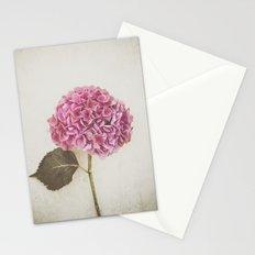 Beautiful Pink Hydrangea Stationery Cards
