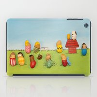 peanuts iPad Cases featuring Real Peanuts by Phil Jones