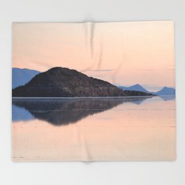 Salar de Uyuni 3 Throw Blanket