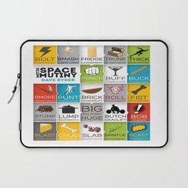 MST3K Space Mutiny - Dave Ryder Names - Art Print Wall Decor Typography Inspirational Poster Motivat Laptop Sleeve