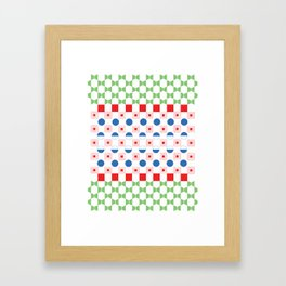 RGB Poster Framed Art Print