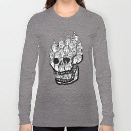 House of Oddities: 0 is equal Zero Long Sleeve T-shirt