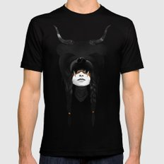Bear Warrior Black MEDIUM Mens Fitted Tee