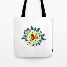 Little Red Riding Cap Tote Bag