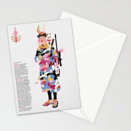 Hell's Angel Stationery Cards