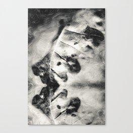 Five boatsmen art Canvas Print