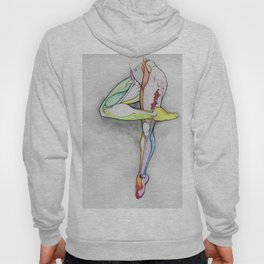 Motion 4, dancer leg anatomy, NYC artist Hoody